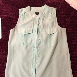 professional button down tank top